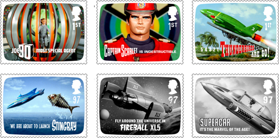 Thunderbirds Stamps