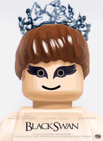 Black Swan Lego Oscars