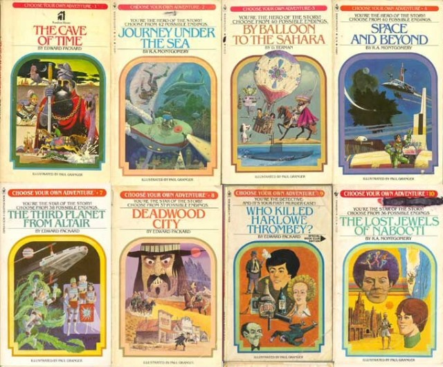 Choose Your Own Adventures Books