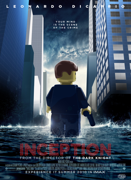Inception Lego Oscars