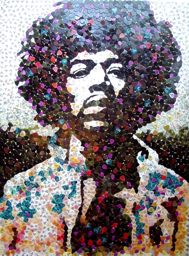 Jimi Hendrix, Mosaic, Cancer Research UK