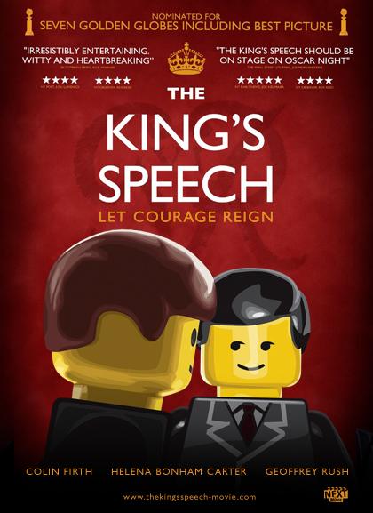 Kings Speech Lego Oscars