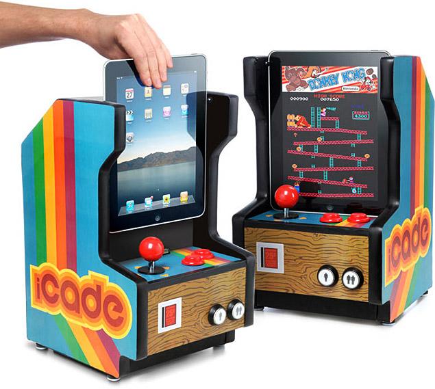 iPad, iCade, Gaming