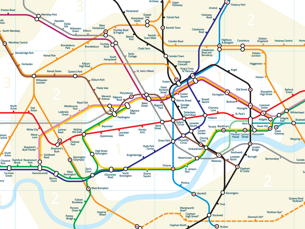 The redesigned london tube map betametric if gumiabroncs Gallery